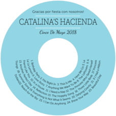 Modern Museo cd labels