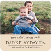 Modern Museo father's day coasters