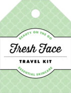 Morocco Small Luggage Tag In Mint