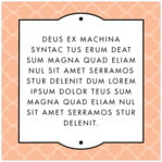 Morocco square text labels