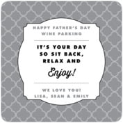 Morocco father's day coasters