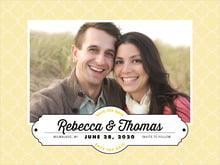 custom save-the-date cards - sunflower - morocco (set of 10)