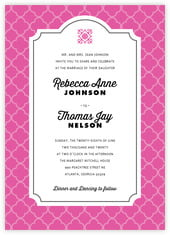 Morocco invitations