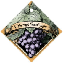 Meritage Red diamond hang tags