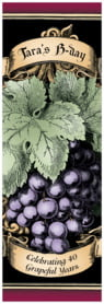 Meritage Red tall labels
