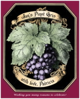 Meritage Red business wine labels