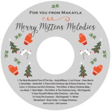 Merry Mittens cd labels