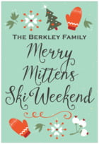 Merry Mittens tall rectangle labels