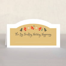 Merry Mittens place cards