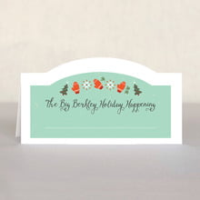 Merry Mittens custom place cards