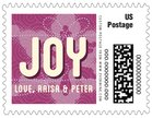 Mist & Snow small postage stamps