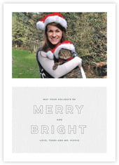 Modern Story photo cards - vertical