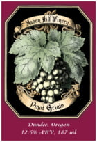 Meritage White tall rectangle labels