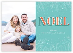 Noel Photo Cards - Horizontal In Jade