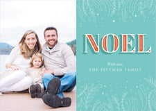 holiday cards - jade - noel (set of 10)