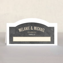 Neue Retro place cards