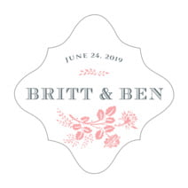 Bountiful Botanical fancy diamond labels