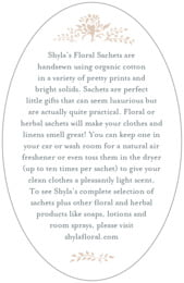 Bountiful Botanical oval text labels