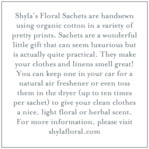 Bountiful Botanical square text labels