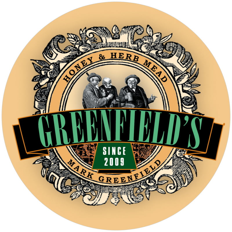 round beer coasters - green, spice & black - old guys (set of 12)