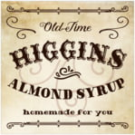 Old Time Higgins Square Label In Parchment