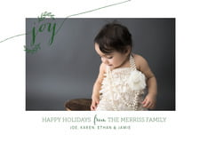 holiday cards - deep green - oh joy (set of 10)