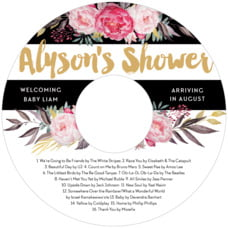 Blooms & Bands cd labels