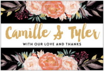 Blooms & Bands wide rectangle labels