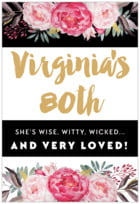 Blooms & Bands tall rectangle labels