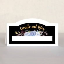 Blooms & Bands place cards