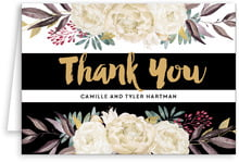 Blooms & Bands folding cards