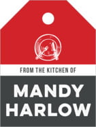 Boston Brew Small Luggage Tag In Charcoal & Cherry Red