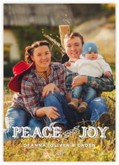 Country Joy photo cards - vertical