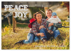 Country Joy photo cards - horizontal