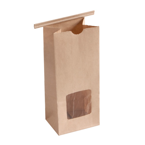 Brown Kraft Paper Poly Lined Coffee Bags