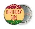 Party pin back buttons