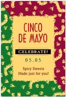 Party cinco de mayo labels