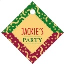 Party small diamond hang tags