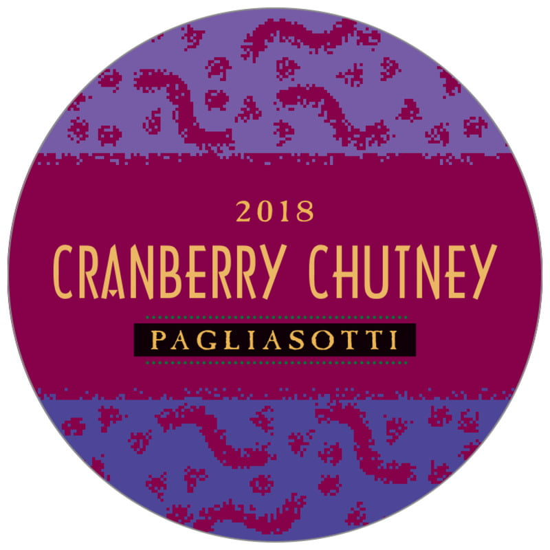 circle food/craft labels - burgundy - party (set of 12)
