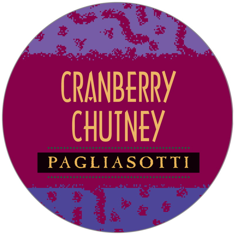 circle food/craft labels - burgundy - party (set of 20)