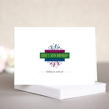 Party christmas note cards