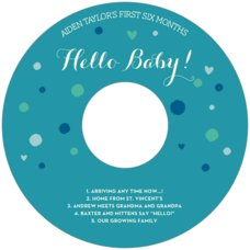 Polka Dots cd labels