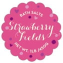 Polka Dots scallop labels