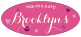 Polka Dots Oval Label In Bright Pink