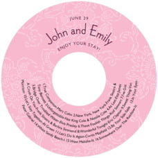 Persimmon Flower cd labels