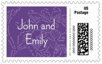 Persimmon Flower large postage stamps