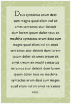 Persimmon Flower text labels