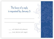 Persimmon Flower response cards
