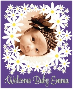 Dreaming Daisies large labels