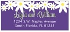 Dreaming Daisies designer address labels